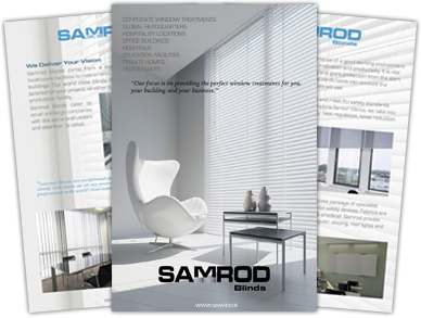 Download Our Corporate office blinds brochure
