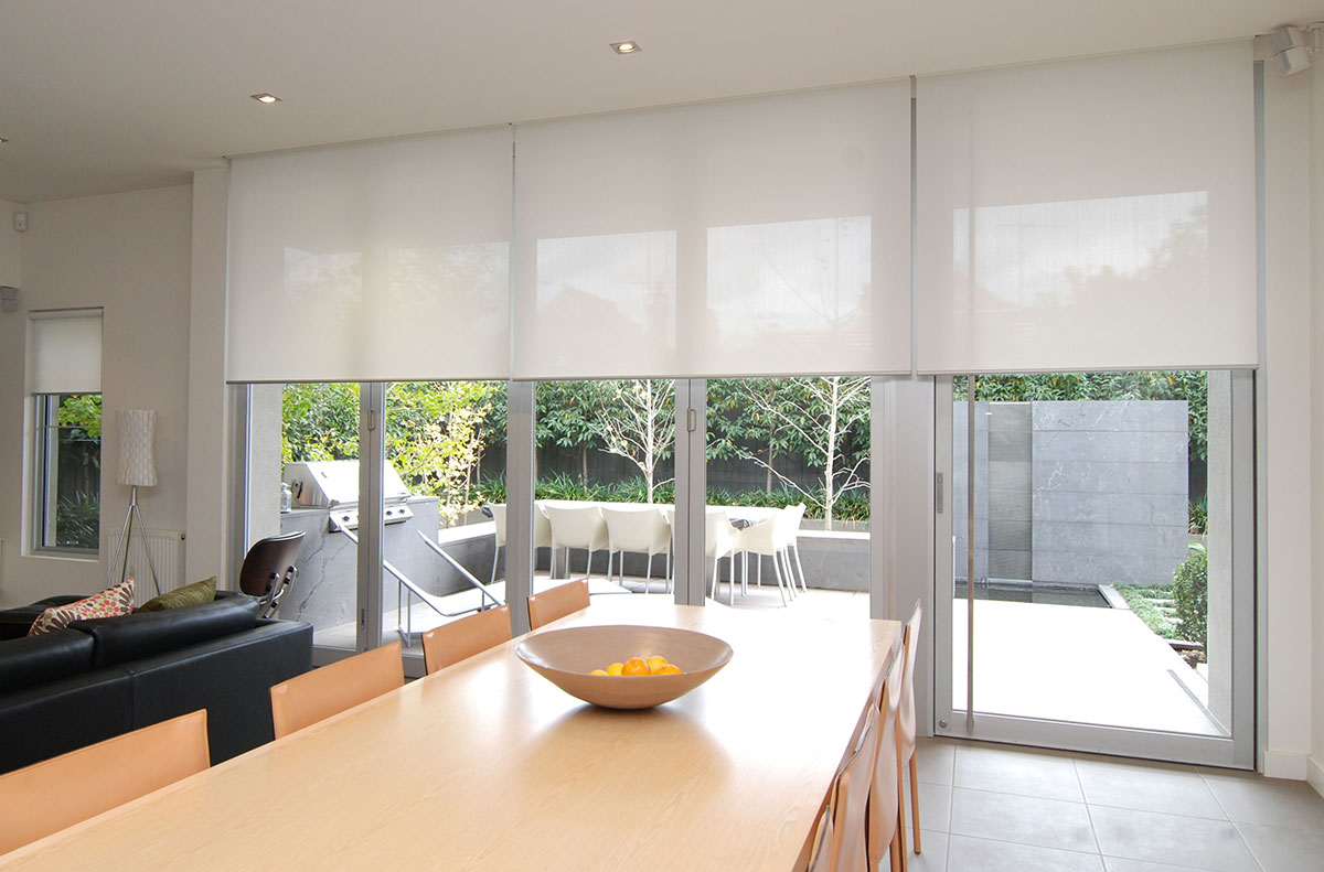 Motorised Blinds in Kitchen - Dublin