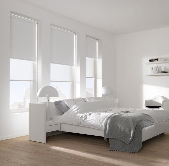 Roller Blinds Dublin Picture White Blinds